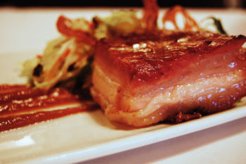 Certified organic pork belly delivered to your door from Whispering Meadows