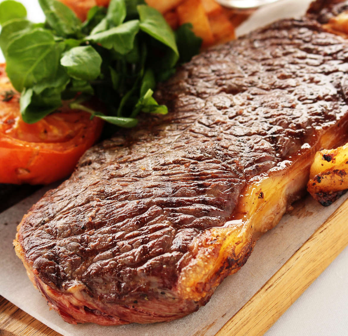 Naturally pasture-raised sirloin beef steaks - dry aged, grass fed, grass finished, non-gmo, antibiotic-free, hormone-free, free-range pasture raised
