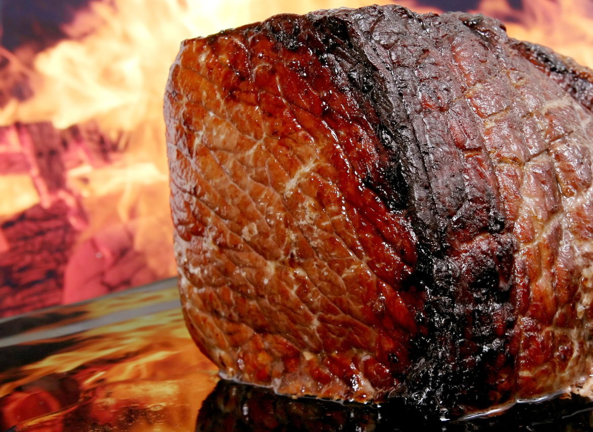 This cross-cut rib roast is available as grass-fed beef or grain finished. Free-range, pasture-raised, all-natural organic beef.